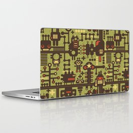 World of robots. Laptop & iPad Skin
