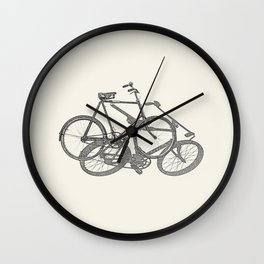 Bicycle, Bicycle, Bicycle Wall Clock