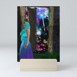 Keeper of the universe Mini Art Print