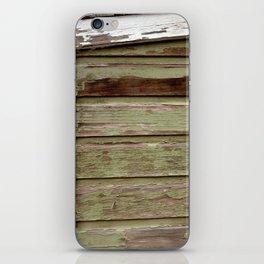 Green Paint iPhone Skin