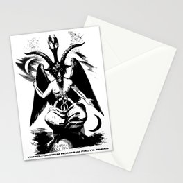 Der Baphomet Stationery Cards