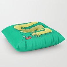 Infinite Wiener Dog Floor Pillow