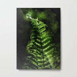 Fern #fern #botanical Metal Print