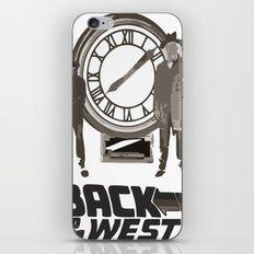 BACK TO THE FUTURE iPhone & iPod Skin