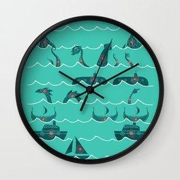 Shooting Gallery Wall Clock