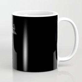 Locomotive Train - One Line Drawing Coffee Mug