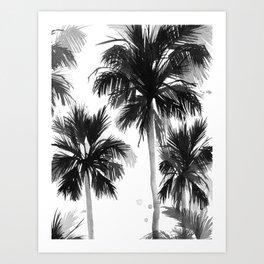 Paradis Noir VIII Art Print