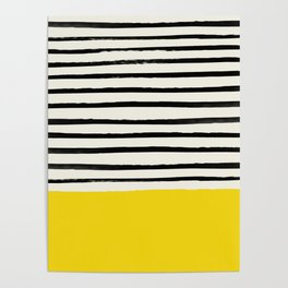 Sunshine x Stripes Poster