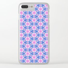 Neon Flux 06 Clear iPhone Case