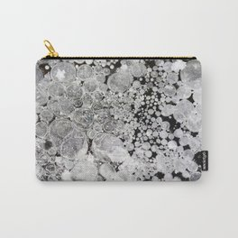 Close up background of melted ice. Carry-All Pouch