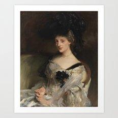 John Singer Sargent 1856–1925   Mrs Philip Leslie Agnew Art Print