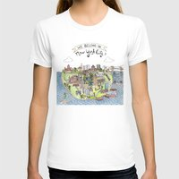 new york city T-shirts featuring New York City Love by Brooke Weeber