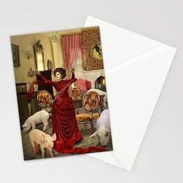 Victorian Circe Stationery Cards