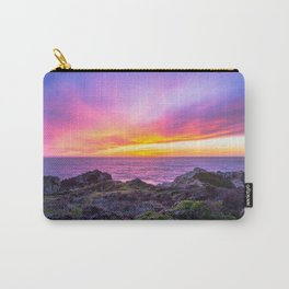 California Dreaming - Brilliant Sunset in Big Sur Carry-All Pouch