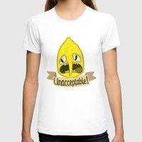 lemongrab T-shirts featuring Lemongrab Unacceptable by Kam-Fox