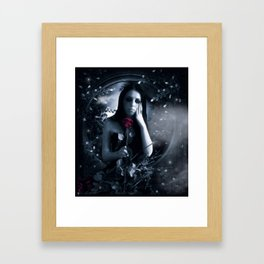 Blood Stained Valentine Framed Art Print