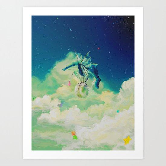 Lunar Thief Art Print