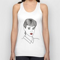 blade runner Tank Tops featuring Rachael. Blade Runner by Whiteland