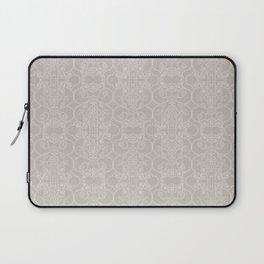 Snow Vertical Lace Laptop Sleeve