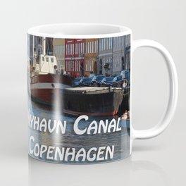 Nyhavn Canal Copenhagen Denmark Coffee Mug