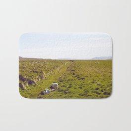 Sheeps in Iceland Bath Mat