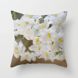 Little Stars Throw Pillow