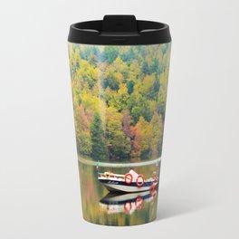 Autumn Reflections in the lake Travel Mug