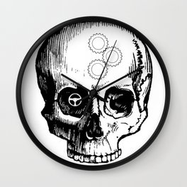 Gear Heads and Monkey Wrenches Wall Clock