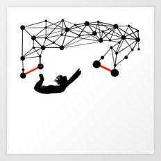 the Trapeze Art Print