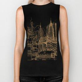 New York! Night Biker Tank
