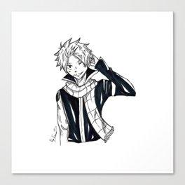 Natsu Dragneel Canvas Print