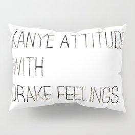 Hip Hop Attitude Poster Pillow Sham