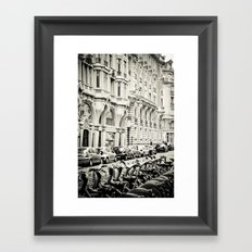 Parisian Street Framed Art Print