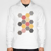 honeycomb Hoodies featuring Honeycomb 3 by K&C Design