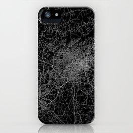 Greensboro map iPhone Case