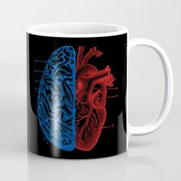 Heart and Brain Coffee Mug