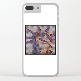Statue of Liberty Clear iPhone Case