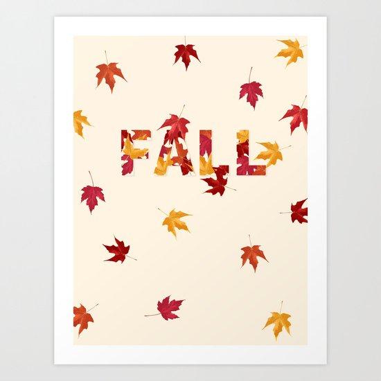 New England Fall Art Print