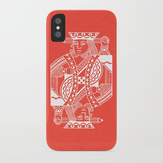 Creativity Is King iPhone Case