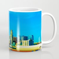 cityscape Mugs featuring Cityscape by Life Of A Lens Studios
