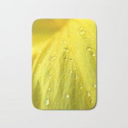 Raindrops on Petals Bath Mat
