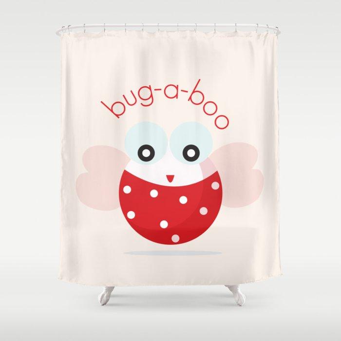 Bug A Boo Shower Curtain