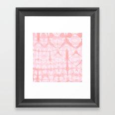 Tie Dye 3 Pink Framed Art Print