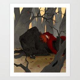 The Big Bad Wolf Kunstdrucke