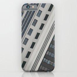 Singapur Skyline Glas Window Front iPhone Case