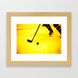 Handling It Framed Art Print