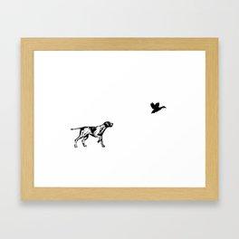 The Point Framed Art Print