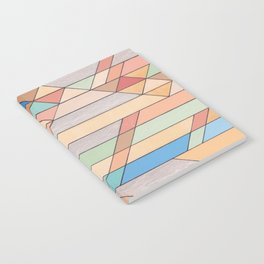 Triangle Pattern no.2 Colorful Notebook