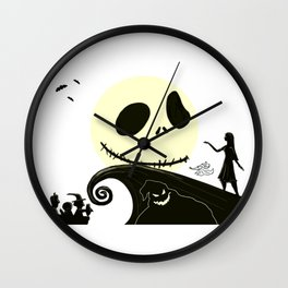 Jack in the Moon Wall Clock