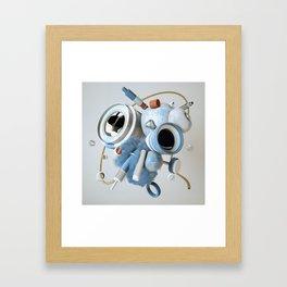 3D Objective Framed Art Print